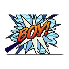Comic Book Boy! Plate Mats