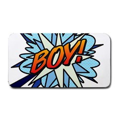 Comic Book Boy! Medium Bar Mats