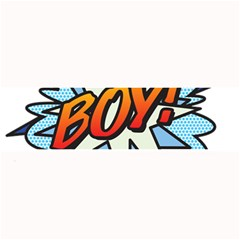 Comic Book Boy! Large Bar Mats