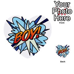 Comic Book Boy! Multi-purpose Cards (Heart)