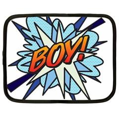 Comic Book Boy! Netbook Case (XXL)