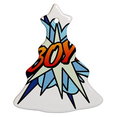 Comic Book Boy! Christmas Tree Ornament (2 Sides)