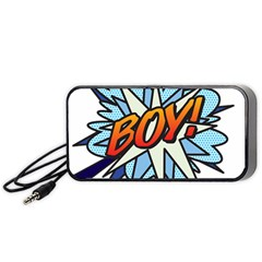 Comic Book Boy! Portable Speaker (Black)
