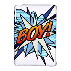 Comic Book Boy! Apple iPad Mini Hardshell Case (Compatible with Smart Cover)