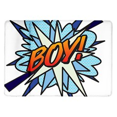 Comic Book Boy! Samsung Galaxy Tab 10.1  P7500 Flip Case