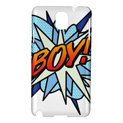 Comic Book Boy! Samsung Galaxy Note 3 N9005 Hardshell Case