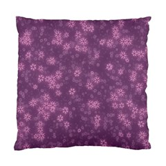 Snow Stars Lilac Standard Cushion Case (One Side)