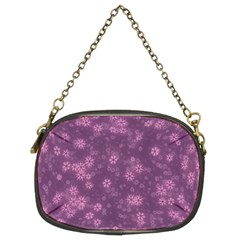 Snow Stars Lilac Chain Purses (Two Sides)