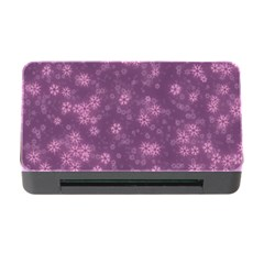 Snow Stars Lilac Memory Card Reader With Cf