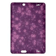 Snow Stars Lilac Kindle Fire HD (2013) Hardshell Case