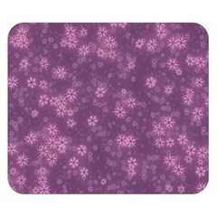 Snow Stars Lilac Double Sided Flano Blanket (Small)