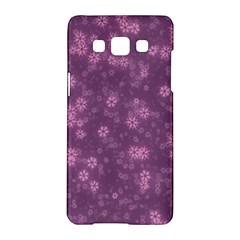 Snow Stars Lilac Samsung Galaxy A5 Hardshell Case