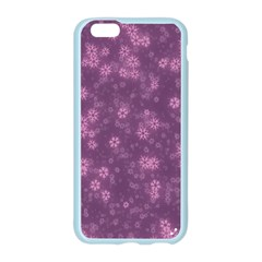 Snow Stars Lilac Apple Seamless iPhone 6/6S Case (Color)