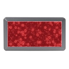 Snow Stars Red Memory Card Reader (mini)