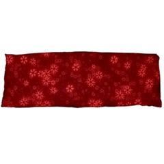 Snow Stars Red Body Pillow Cases Dakimakura (Two Sides)