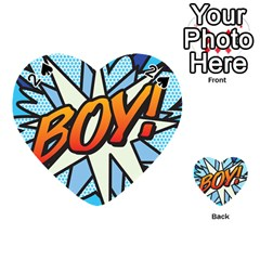 Comic Book Boy!  Playing Cards 54 (heart)