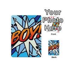 Comic Book Boy!  Playing Cards 54 (Mini)