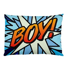 Comic Book Boy!  Pillow Cases (Two Sides)