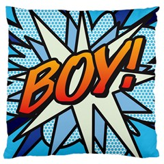 Comic Book Boy!  Large Cushion Cases (One Side)
