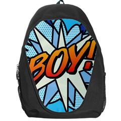 Comic Book Boy!  Backpack Bag