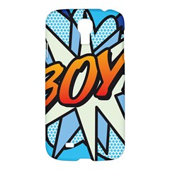 Comic Book Boy!  Samsung Galaxy S4 I9500/I9505 Hardshell Case