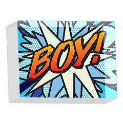 Comic Book Boy!  5 x 7  Acrylic Photo Blocks