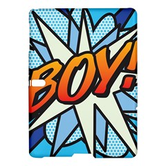 Comic Book Boy!  Samsung Galaxy Tab S (10.5 ) Hardshell Case
