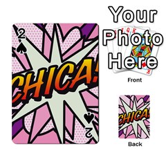 Comic Book Chica!  Playing Cards 54 Designs