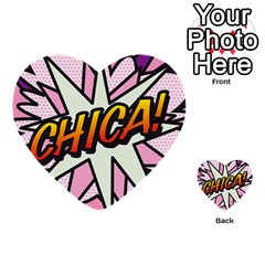 Comic Book Chica!  Multi Purpose Cards (heart)