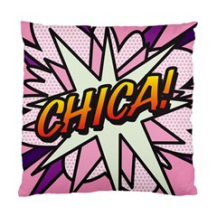 Comic Book Chica!  Standard Cushion Case (One Side)