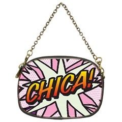 Comic Book Chica!  Chain Purses (Two Sides)