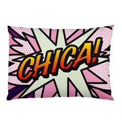 Comic Book Chica!  Pillow Cases