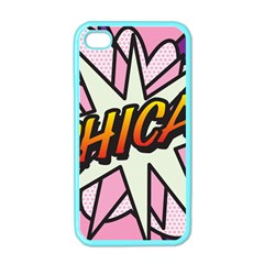 Comic Book Chica!  Apple iPhone 4 Case (Color)