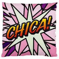 Comic Book Chica!  Large Cushion Cases (Two Sides)