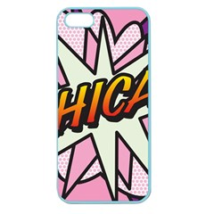 Comic Book Chica!  Apple Seamless iPhone 5 Case (Color)