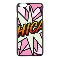 Comic Book Chica!  Apple iPhone 6 Plus/6S Plus Black Enamel Case