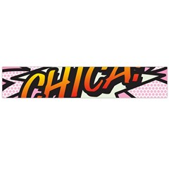 Comic Book Chica!  Flano Scarf (Large)