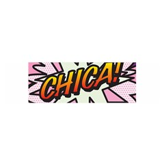 Comic Book Chica!  Satin Scarf (Oblong)