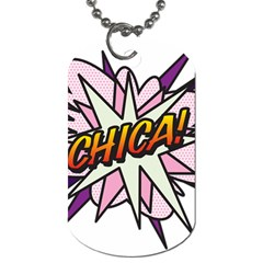 Comic Book Chica! Dog Tag (Two Sides)