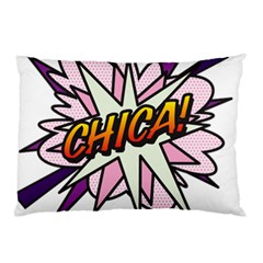 Comic Book Chica! Pillow Cases (Two Sides)