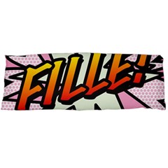 Comic Book Fille! Body Pillow Cases (Dakimakura)