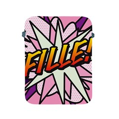 Comic Book Fille! Apple iPad 2/3/4 Protective Soft Cases