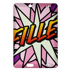 Comic Book Fille! Kindle Fire HD (2013) Hardshell Case