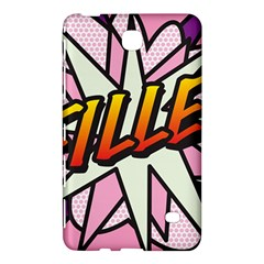 Comic Book Fille! Samsung Galaxy Tab 4 (8 ) Hardshell Case