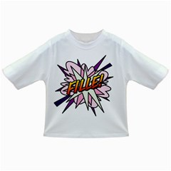 Comic Book Fille! Infant/Toddler T-Shirts