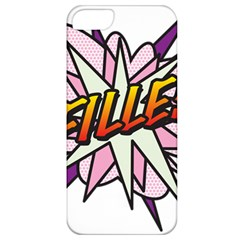 Comic Book Fille! Apple iPhone 5 Classic Hardshell Case