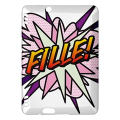 Comic Book Fille! Kindle Fire HDX Hardshell Case