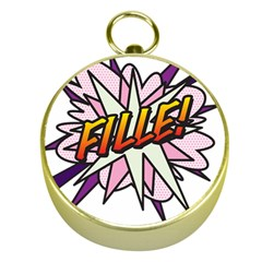 Comic Book Fille! Gold Compasses