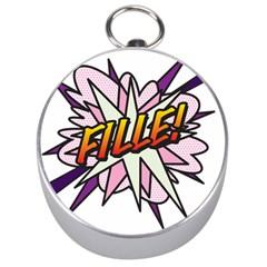 Comic Book Fille! Silver Compasses
