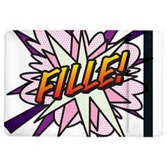 Comic Book Fille! iPad Air 2 Flip